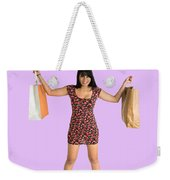Well Behaved Women Seldom Make History Weekender Tote Bag