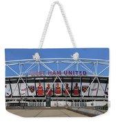 West Ham Fc Stadium London Weekender Tote Bag