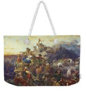 Westward The Course Of Empire Takes Its Way Weekender Tote Bag