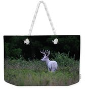 White Buck Weekender Tote Bag