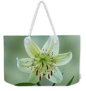 White Tiger Lily Weekender Tote Bag
