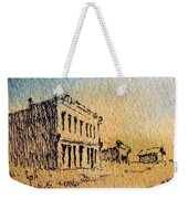 White Oaks Ghost Town New Mexico Weekender Tote Bag