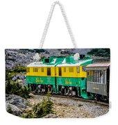 White Pass Mountains In British Columbia Weekender Tote Bag