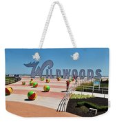 Wildwood's Sign, Boardwalk Wildwood, Nj. Copyright Aladdin Color Inc. Weekender Tote Bag