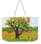 Willow Tree, Painting Weekender Tote Bag