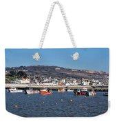 Winter Harbour - Lyme Regis Weekender Tote Bag
