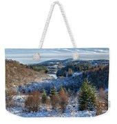 Winter Wonderland In Central Scotland Weekender Tote Bag