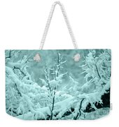 Winter Wonderland In Switzerland Weekender Tote Bag