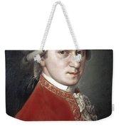 Wolfgang Amadeus Mozart Weekender Tote Bag