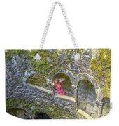 Woman Tourist In Sintra Weekender Tote Bag