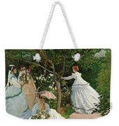 Women In The Garden Weekender Tote Bag