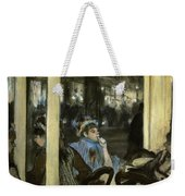 Women On A Cafe Terrace Weekender Tote Bag