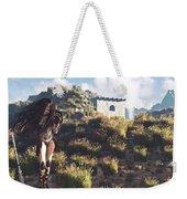 Women Warrior Weekender Tote Bag