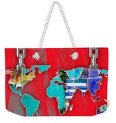World Map Collection Weekender Tote Bag