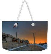 World War II Memorial Sunrise Weekender Tote Bag