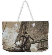 Yachting Girl Weekender Tote Bag
