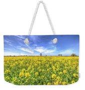 Yellow Fields Of Summer Weekender Tote Bag
