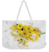 Yellow Gerbers Weekender Tote Bag