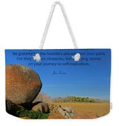 20- Be Grateful Weekender Tote Bag
