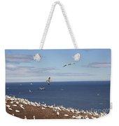 Gannet Colony Weekender Tote Bag