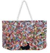 20 Questions With Tracy Weekender Tote Bag