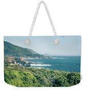 Western Usa Pacific Coast In California Weekender Tote Bag