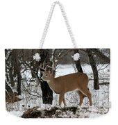 Whitetail Buck Weekender Tote Bag