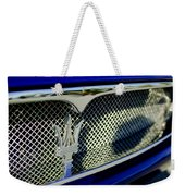 2002 Maserati Hood Ornament Weekender Tote Bag