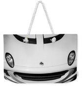 2005 Lotus Elise Hood Emblem -0072bw Weekender Tote Bag
