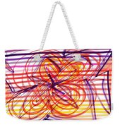 2007 Abstract Drawing 2 Weekender Tote Bag
