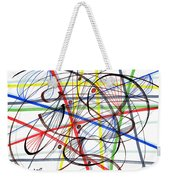 2007 Abstract Drawing 7 Weekender Tote Bag