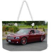 2007 Dodge Charger Couture Weekender Tote Bag
