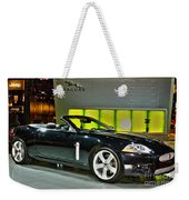 2007 Jaguar Xkr Convertible R No 1 Weekender Tote Bag