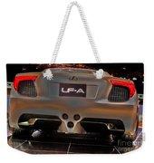 2007 Lexus Lf-a Exotic Sports Car Concept No 3 Weekender Tote Bag