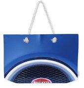 2008 Bugatti Veyron Hood Ornament Weekender Tote Bag