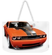 2008 Dodge Challenger Srt Muscle Car Weekender Tote Bag