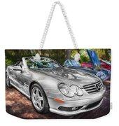 2008 Mercedes Benz Sl500 V8 Coupe Painted   Weekender Tote Bag