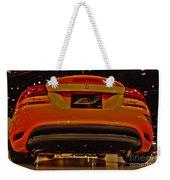 2009 Chicago Auto Showdodge Circuit Ev No 2 Weekender Tote Bag
