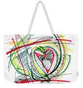 2010 Abstract Drawing Eighteen Weekender Tote Bag