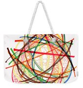 2010 Abstract Drawing Fifteen Weekender Tote Bag