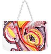 2010 Abstract Drawing Nine Weekender Tote Bag