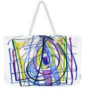 2010 Abstract Drawing Nineteen Weekender Tote Bag