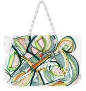 2010 Abstract Drawing Seventeen Weekender Tote Bag