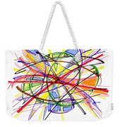 2010 Abstract Drawing Twelve Weekender Tote Bag