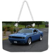 2010 Dodge Challenger Amilowski Weekender Tote Bag