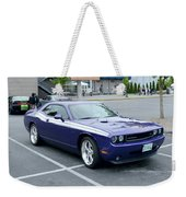 2010 Dodge Challenger Rt Lyster Weekender Tote Bag