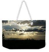 2010 June 4 Sunset Over Denver Weekender Tote Bag