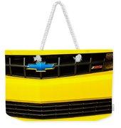 2010 Nickey Camaro Grille Emblem Weekender Tote Bag