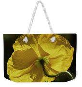 2011, Yellow Poppy Weekender Tote Bag