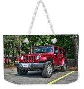 2011 Jeep Wrangler Weekender Tote Bag